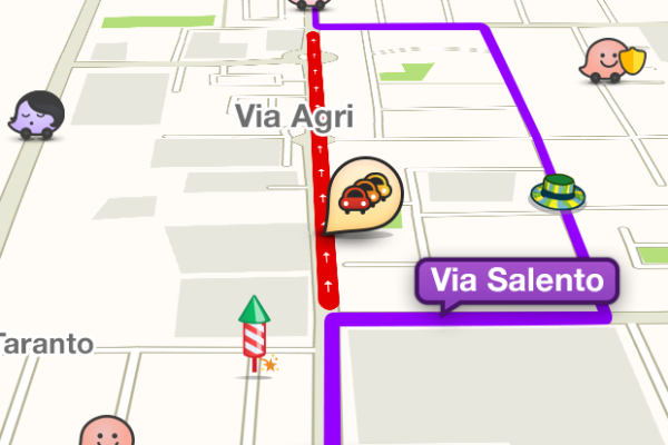 Waze: Traffic alert e road goodies speciali per festeggiare