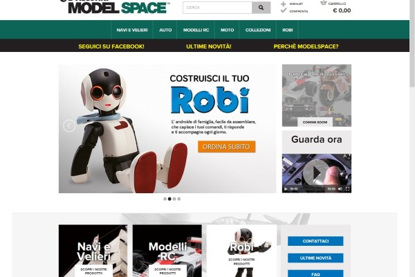 Model space italia