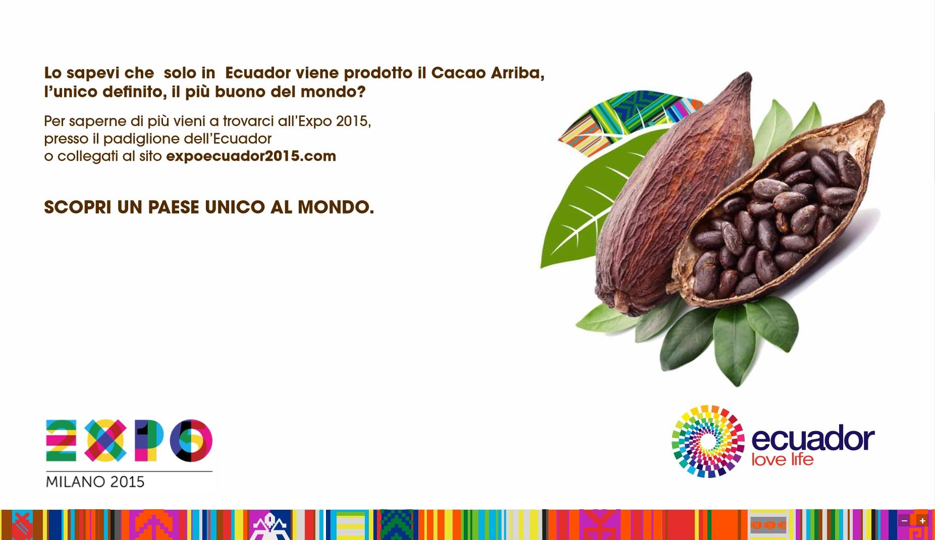 Expo Milano Stand Ecuador : Expo presentato il padiglione dell ecuador
