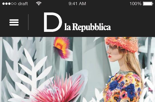 D la repubblica lancia la nuova versione mobile del sito for Sito mobili online