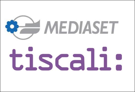 Mediaset-Tiscali-Loghi