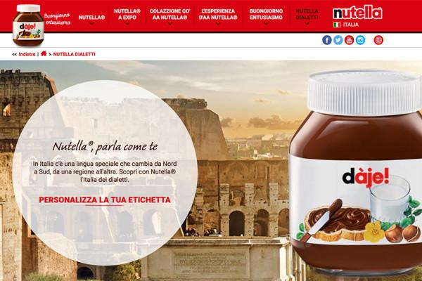 Nutella-Dialetti