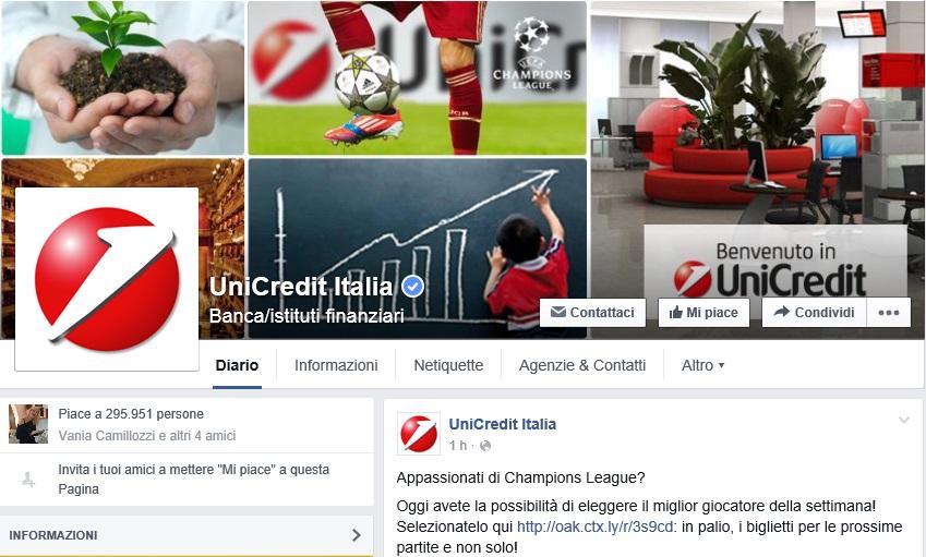 unicredit-banca-Facebook