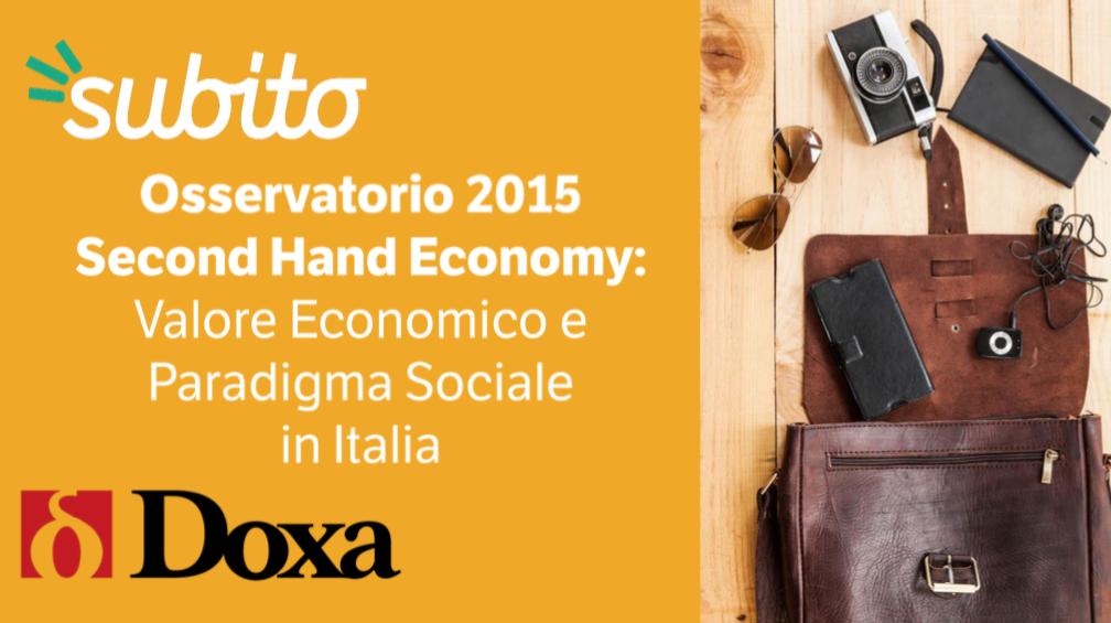 La second hand economy vale in italia 18 miliardi di euro for Mercato del mobile usato milano