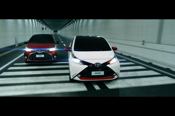 Nuova Campagna Per Le City Car Toyota Firma Saatchi