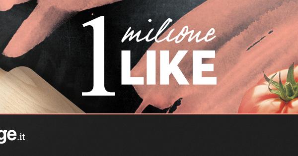 Cucina supera il milione di fan su facebook - Cucina fan page ...