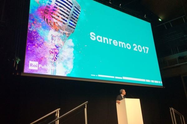Fabrizio Piscopo presenta Sanremo 2017