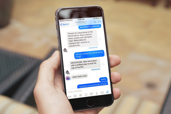 Facebook Messenger, chat Room in fase di test