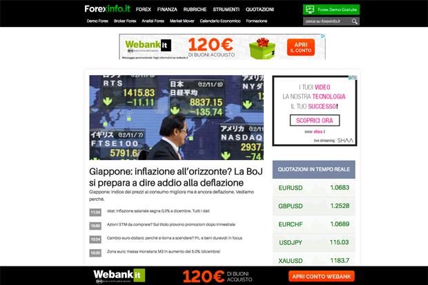 Forexinfo_it-Sito