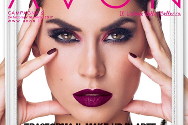 Melissa Satta è il nuovo volto di Avon Cosmetics per Mark