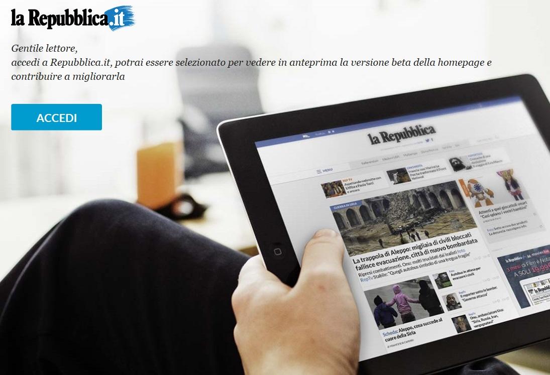 20 anni per i lettori coinvolti nel for Home page repubblica