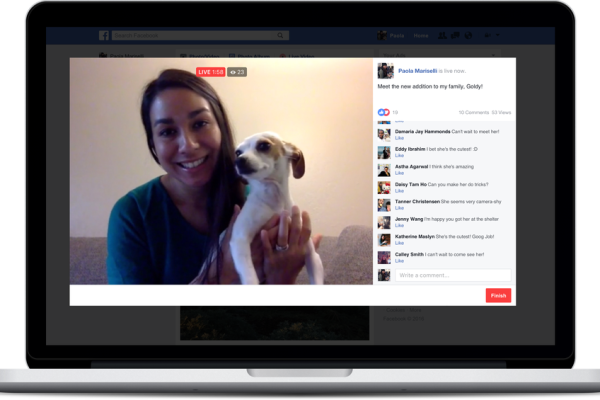 Facebook Live arriva anche su desktop e laptop