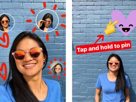 Selfie-Sticker-and-Pinning-