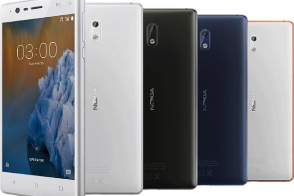 Nokia 3 arriva in Italia il 28 giugno
