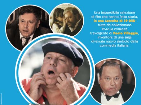 Paolo Villaggio_collana DVD