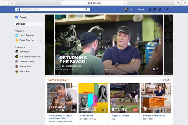 Facebook-tv-watch