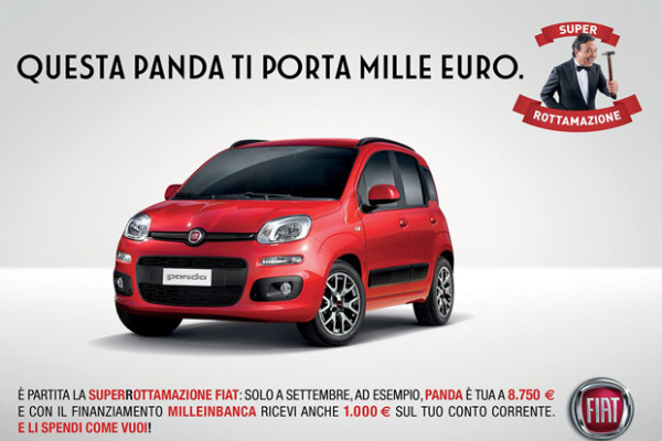 SuperRottamazione Fiat e Lancia, lo spot è in tv e sul digital