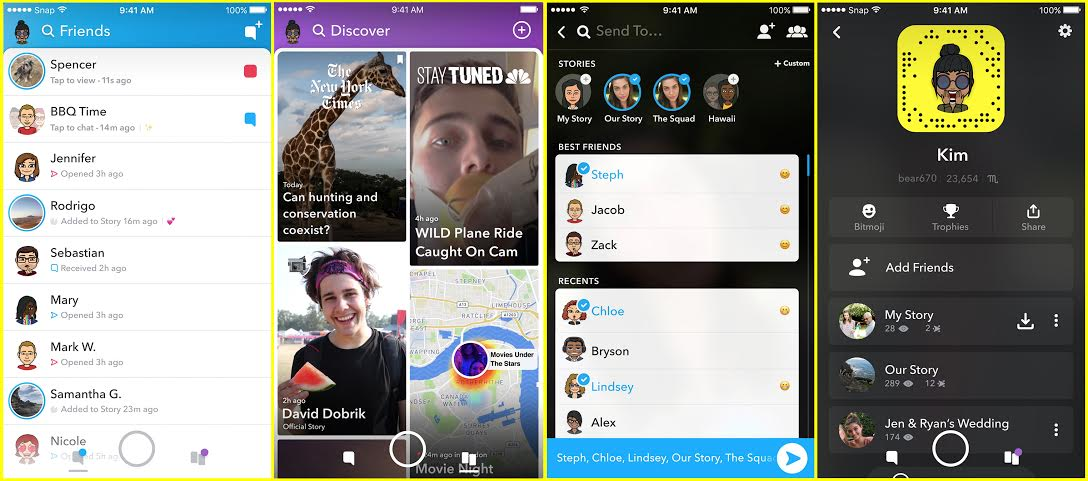snapchat-restyling-all-screens