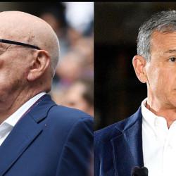 Rupert Murdoch e Bob Iger