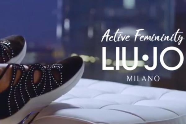E  partita la nuova campagna pubblicitaria di Liu Jo dedicata alla nuova  gamma di scarpe Active Femininity. 6ae76b7791e