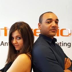 Fabiana Di Pietro e Stefano Nkazi