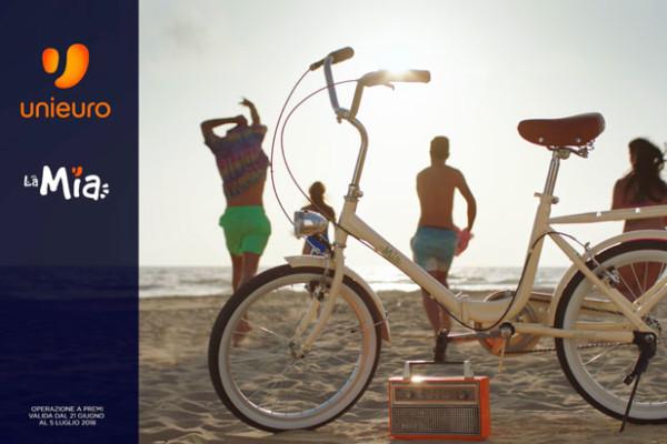 Unieuro Al Via Gli Spot Pubblicitari Per La Bicicletta Lamia