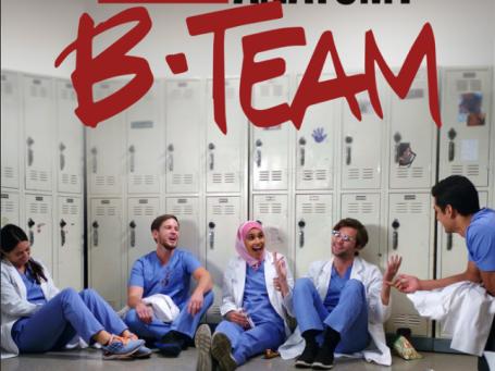 grey's anatomy: b team-foxlife