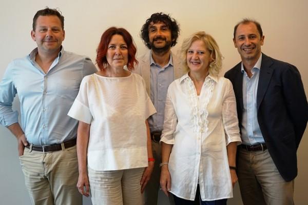 Cristiano Nissotti, Monica Pecchia, Erik Rollini, Elisabetta Casini e Zeno Mottura