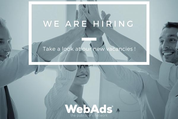 WebAds hiring