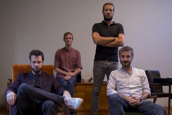 Lorenzo Picchiotti, Davide Baldi, Lorenzo Del Bianco e Livio Basoli