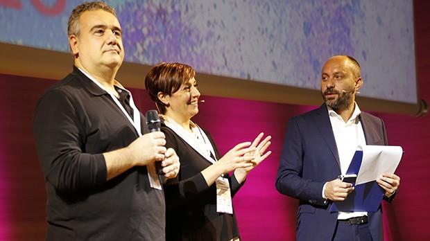 Marco Gentili, Benedetta Rossi e Simone Freddi