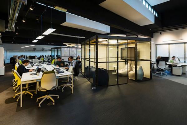 Deloitte Digital: un dettaglio degli uffici milanesi