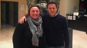 Maddalena Milone - CEO di Meeting Planner e Gaetano Contento CEO di Never Before Italia