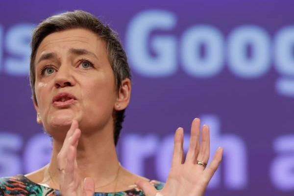 Margrethe Vestager-google