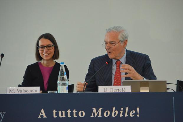 Marta Valsecchi e Umberto Bertelè