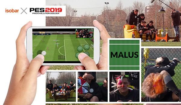 I Mates protagonisti del lancio digital di PES Mobile 2019