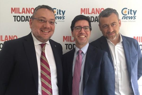 Fernando Diana, Walter Bonanno e Luca Lani