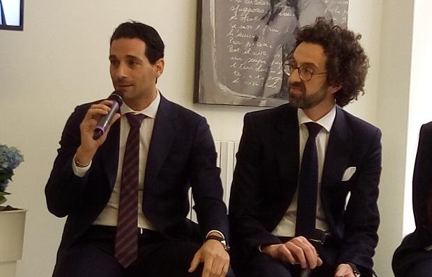 Gianfranco Chimirri e Antonio Giglio