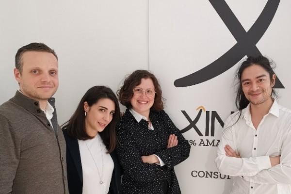 Mirco Finiello, Federica Soro, Marta De Cunto e Hideki Yamamoto