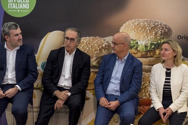 Andrea Santagata, Ernesto Mauri, Mario Federico e Giorgia Favaro