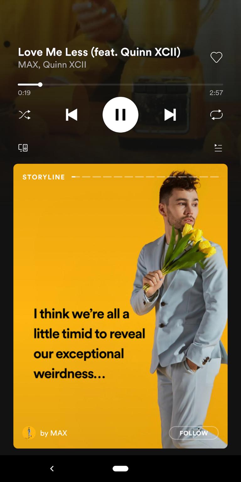 spotify-storyline