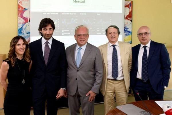 Karen Nahum, Federico Silvestri, Giuseppe Cerbone, Fabio Tamburini e Roberto Bernabò