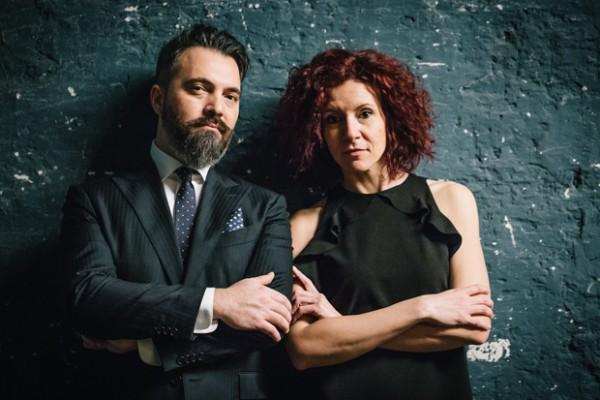 Salvatore Russo e Giulia Bezzi