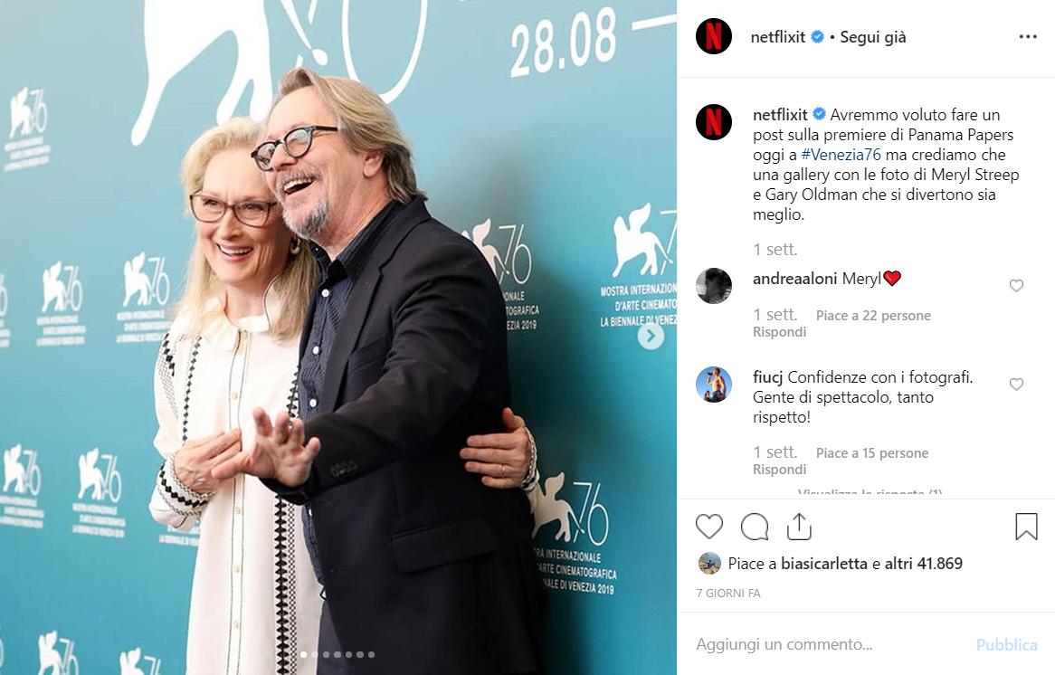 Netflix Italia Festival Venezia 76