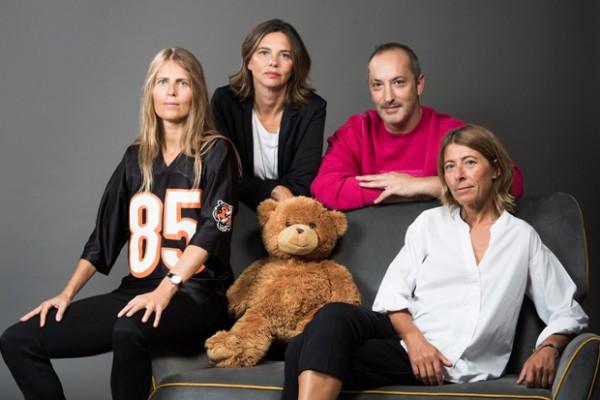 Da sinistra, Elena Bianchi, Alessia Tousco, Gory Pianca e Laura Corbetta