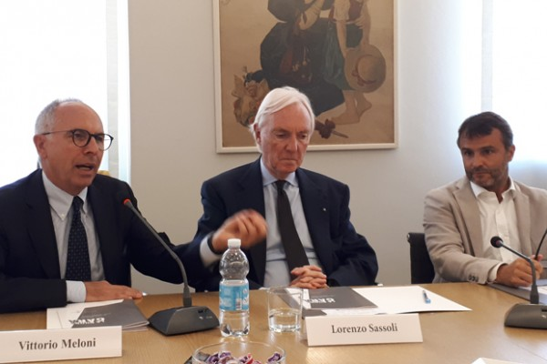 Vittorio Meloni, Lorenzo Sassoli de Bianchi ed Emanuele Nenna