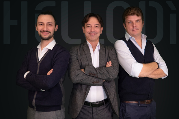 Alex Ballato, Ruggero Gemini e Francesco Ferrari