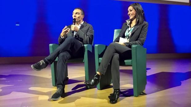 Carmelo Noto e Gloria Bassi