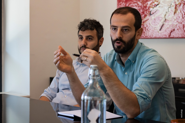 da sinistra: Davide Grossi e Laerte Saliai