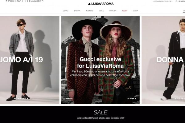 LuisaViaRoma-sito